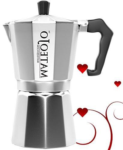 Stovetop Espresso Maker - Italian Moka Pot - Cafetera - Cuba