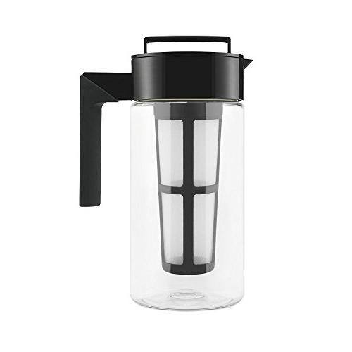 Takeya - 4-cup Cold-brew Coffeemaker - Black/clear