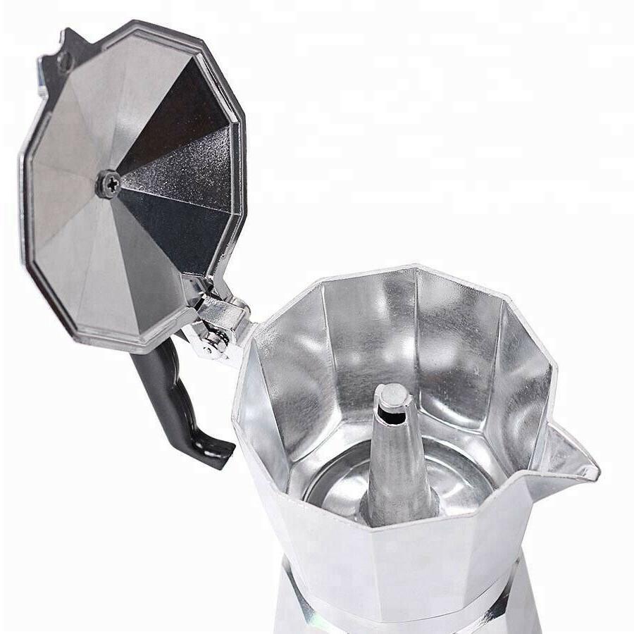 Aluminium Stove-Top Coffee Manually Moka Pot 9 Cafetera