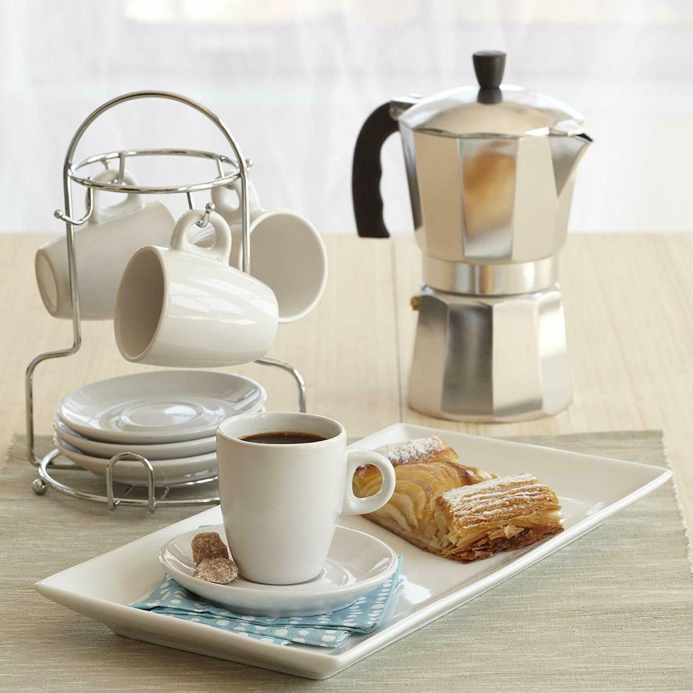 aluminum stovetop moka espresso coffee pot maker
