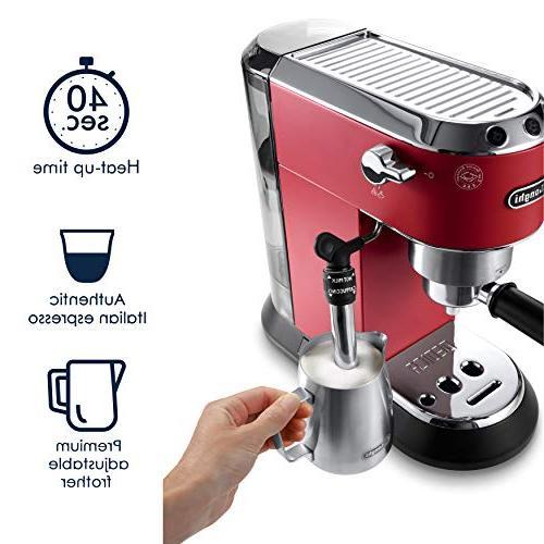 DeLonghi America, Dedica Deluxe Espresso Machine,