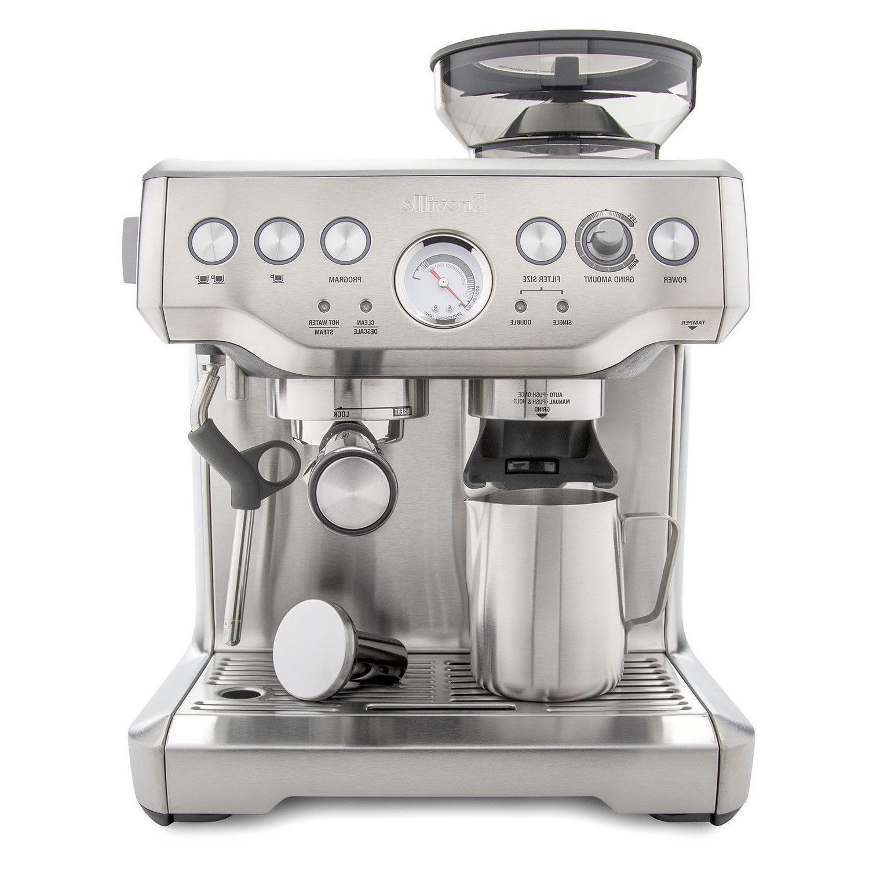 barista espresso machine bes870xl coffee maker stainless
