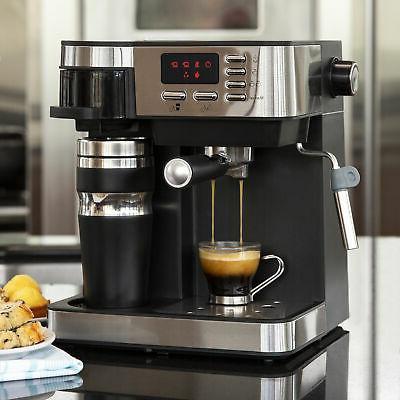 BCP 3-in-1 Espresso, Coffee, and Maker w/