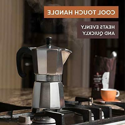 Bellemain Espresso Moka Silver