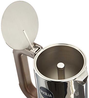 Brand Espresso Maker 18/10 Stainless Steel mirrorSilver