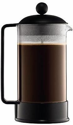 Bodum Brazil Series 8 Cup French Press Coffee and Espresso M