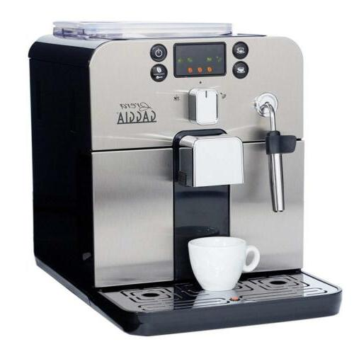 brera super automatic espresso machine in black