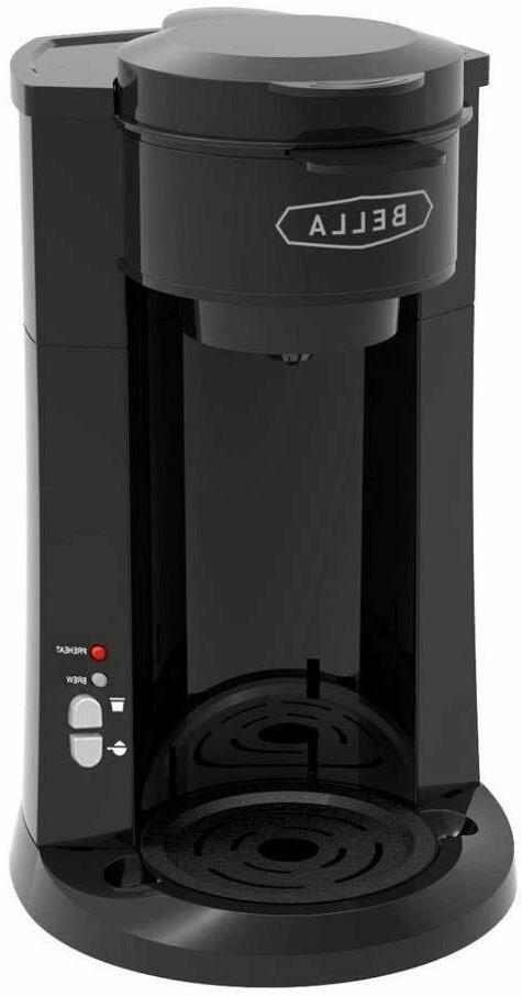 BELLA 14587 Serve Personal Coffee Black, K Ground