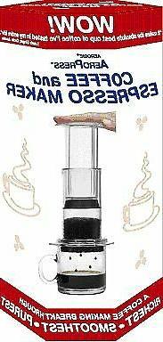 AeroPress Coffee and Espresso Maker with Bonus 350 Micro Fil