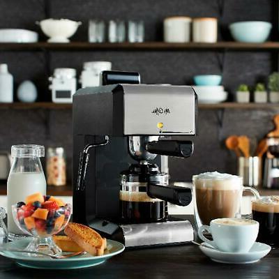 Coffee Bar ESPRESSO Milk Steam Frother Latte Brewer Maker
