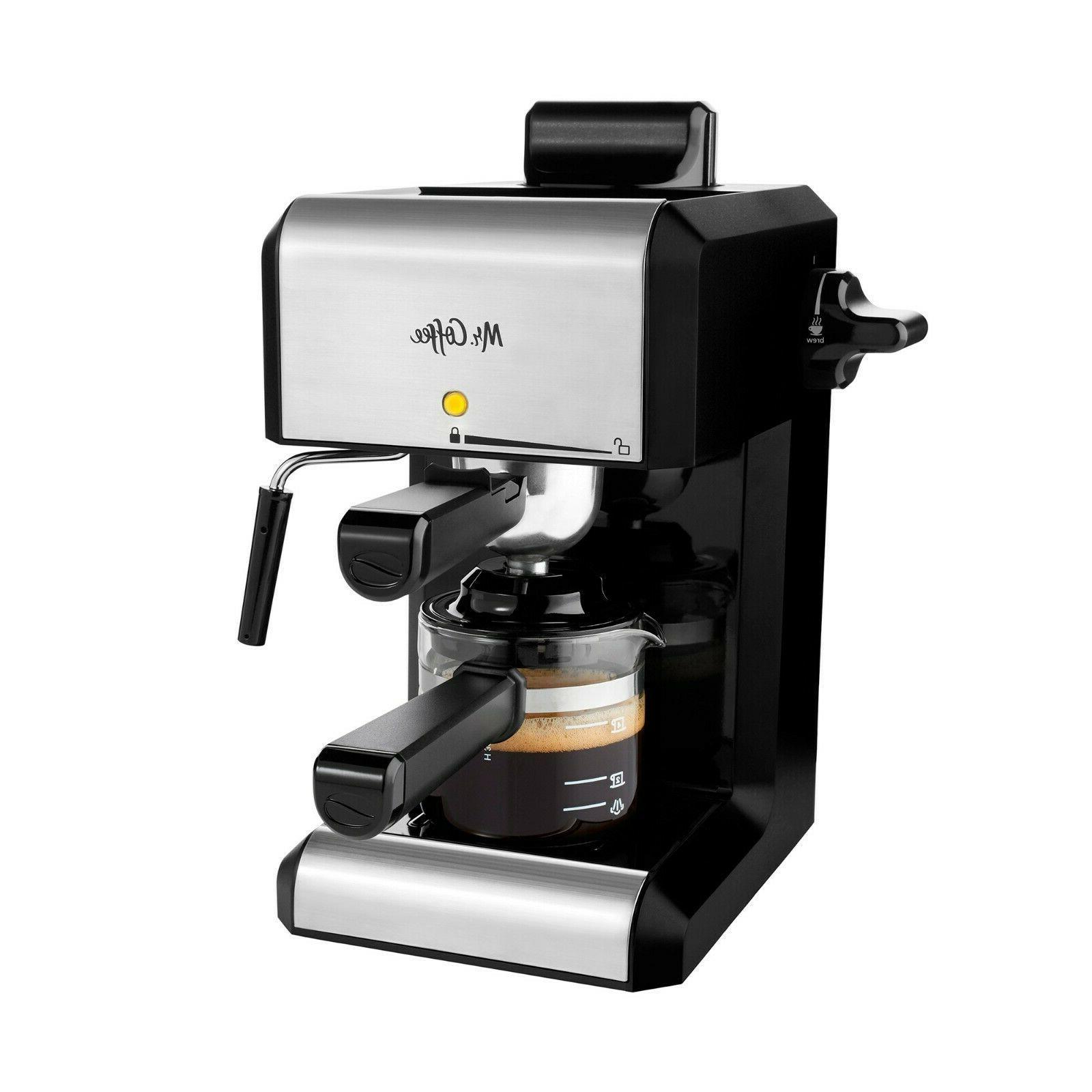 mr coffee espresso and cappuccino latte maker