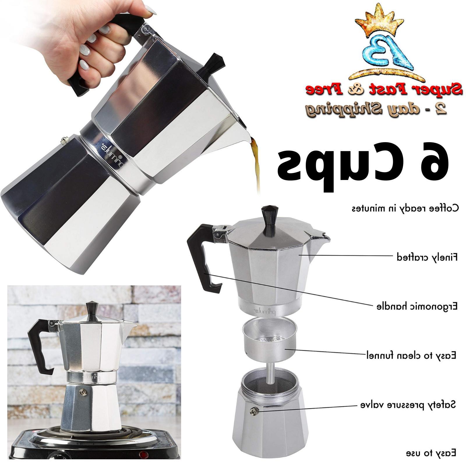 coffee espresso maker aluminum stovetop moka mocha