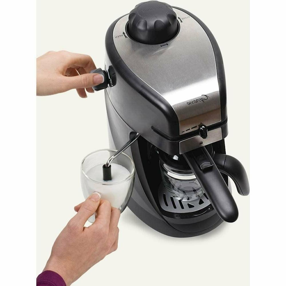 Steam PRO Coffee Maker Steel