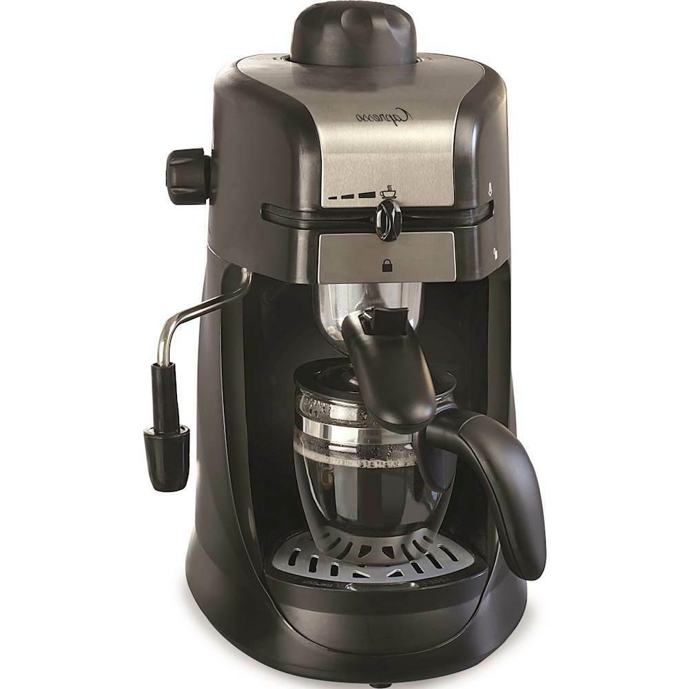 Steam PRO Coffee Maker Black/Stainless Steel