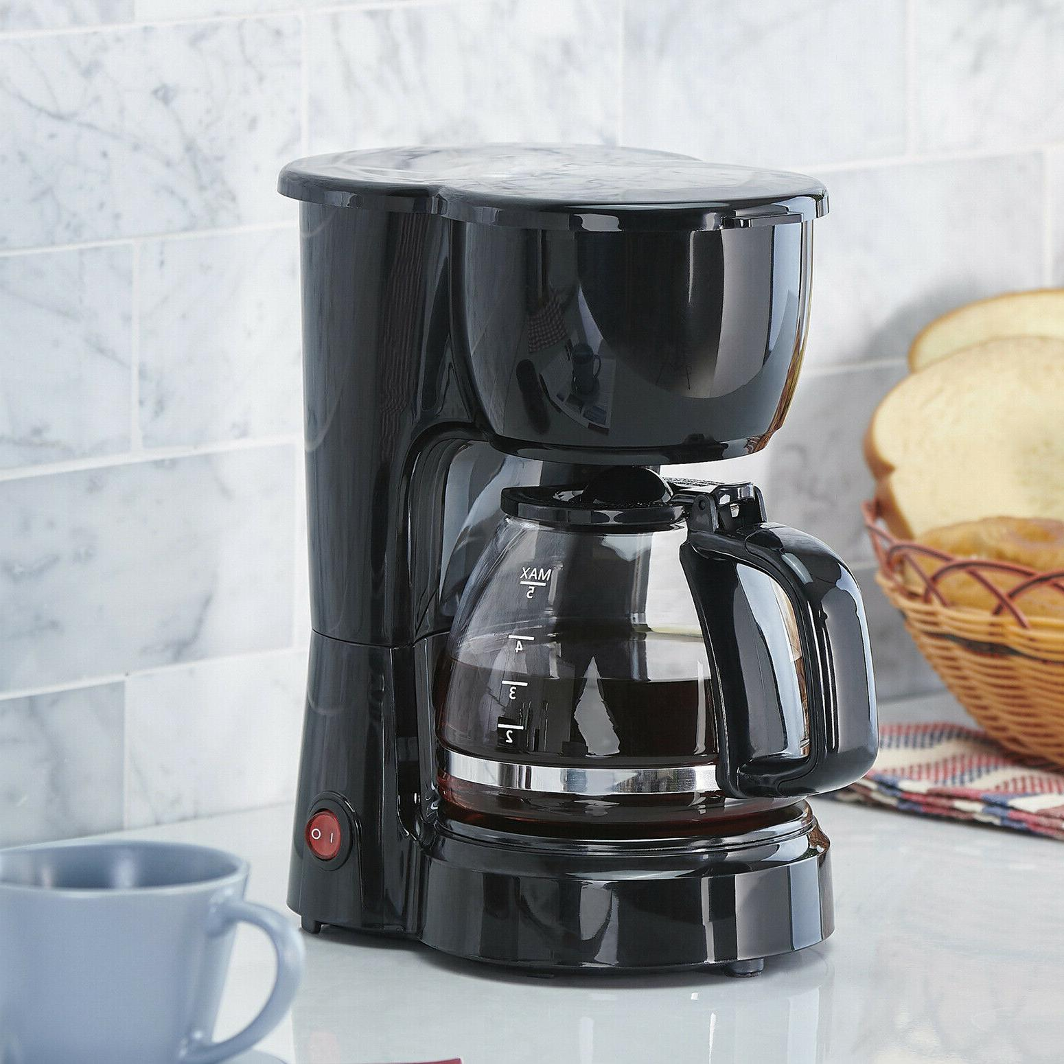 Coffee Maker 5-Cup 700W Pot Energy Saving Electric Kitchen A