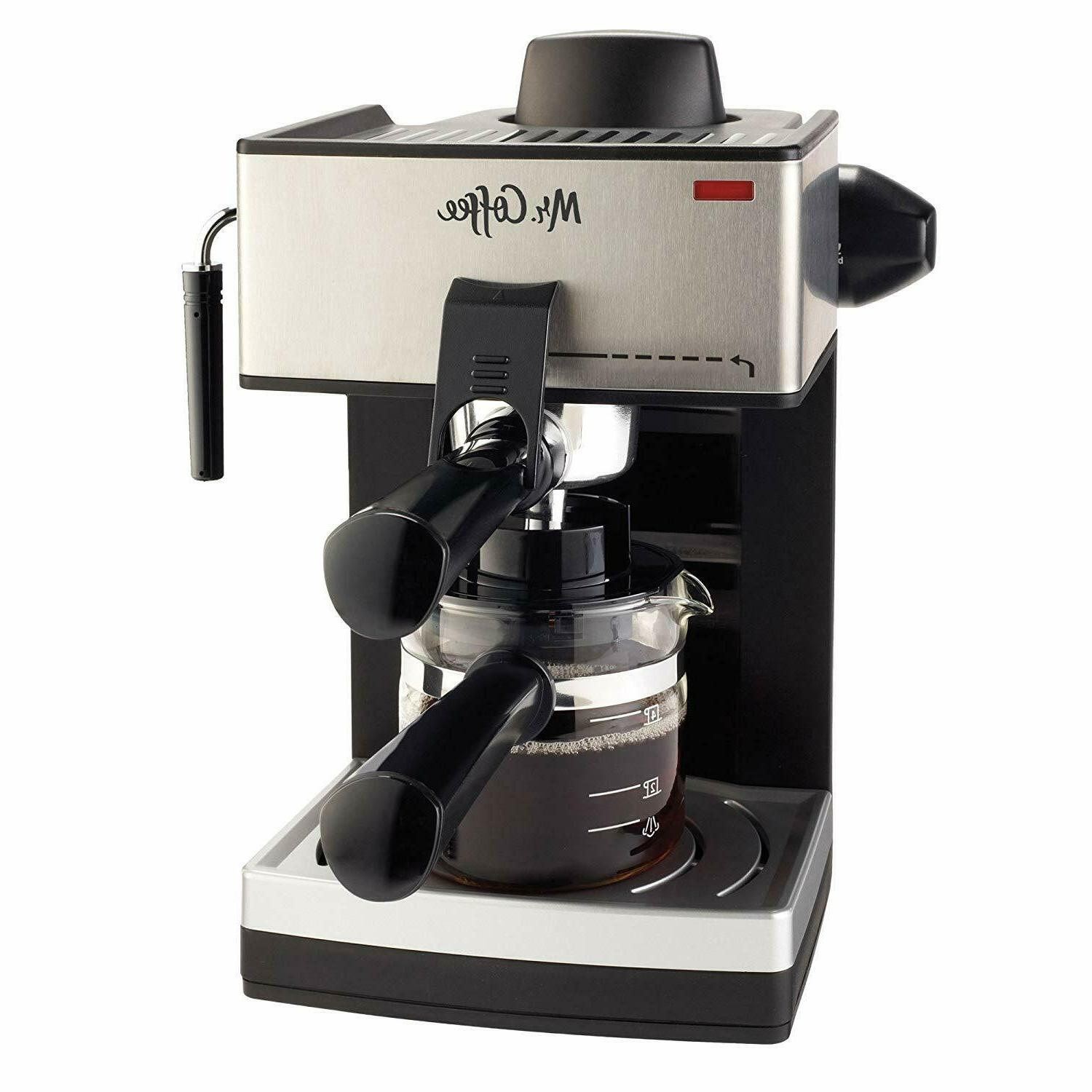 Coffee Maker Cappuccino Latte Steam Frother Home