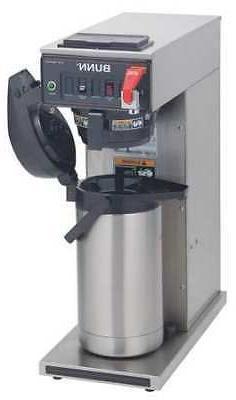 Bunn Cwtf Airpot Stainless Steel Single Serve 102 Oz. Airpot