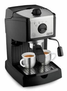 De'Longhi EC 155 2 Cups Espresso and Cappuccino Maker - Blac