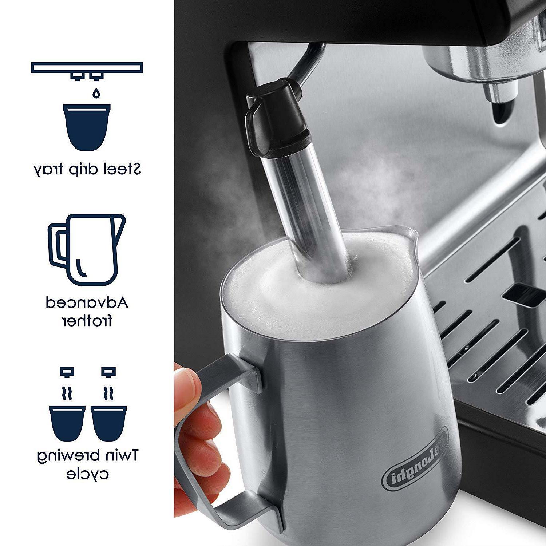 De'Longhi Pump Espresso and Machine Black