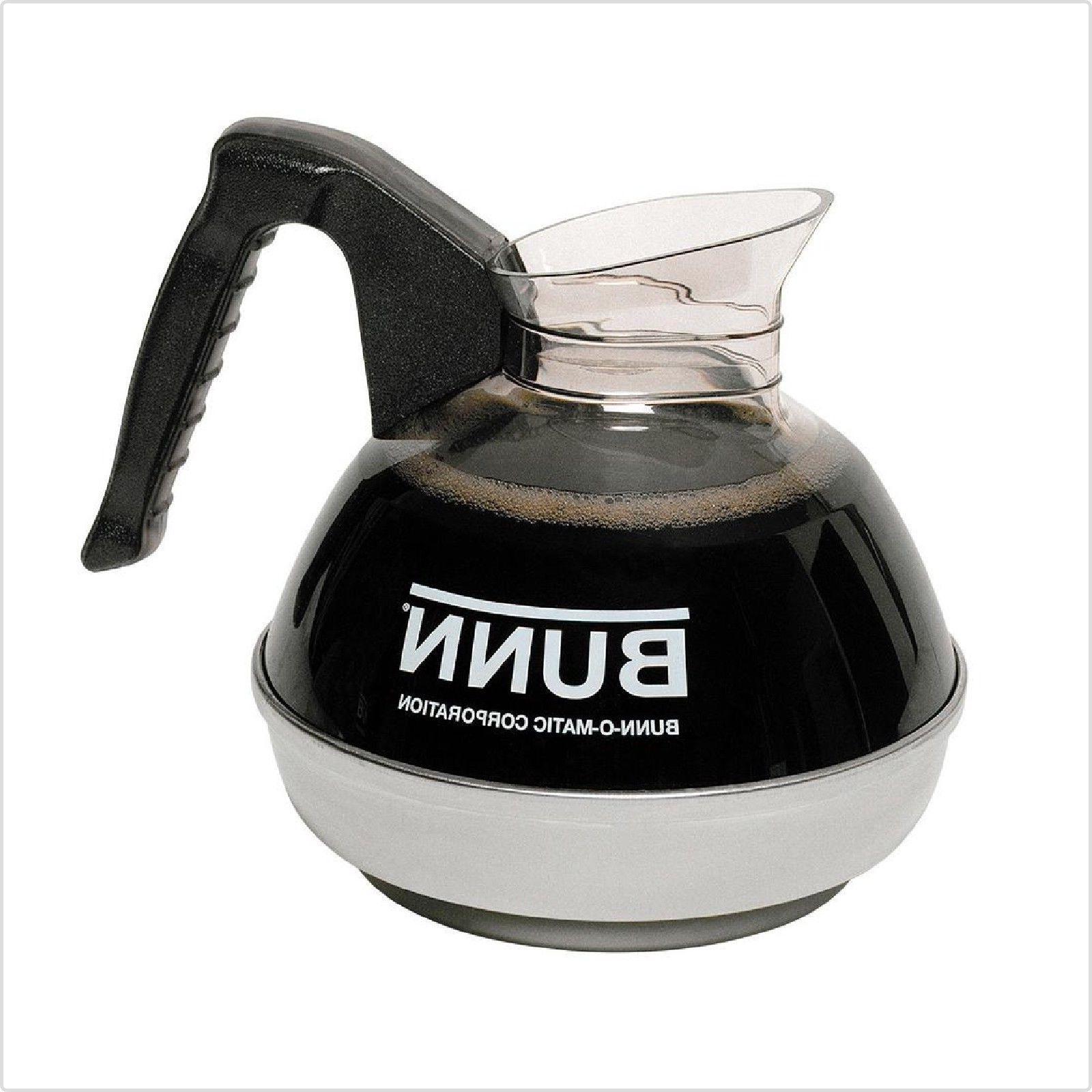decanter 12 cup easy pour commercial black