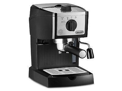 delonghi america inc ec155m pump espresso black