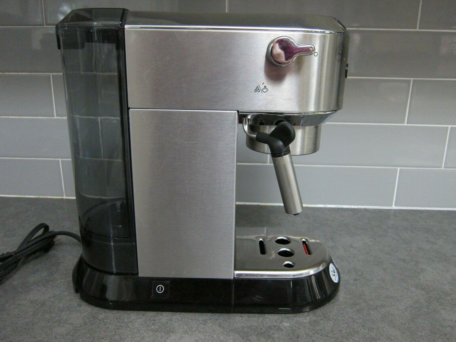 DeLonghi Pump Manual - Silver