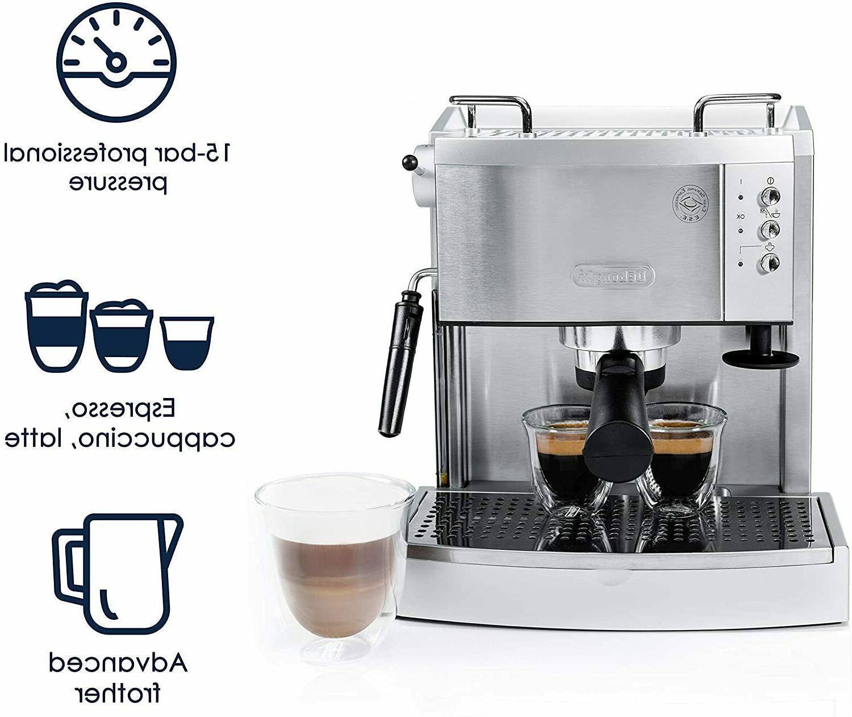De'Longhi 15 Espresso Maker, EC702 low fixen