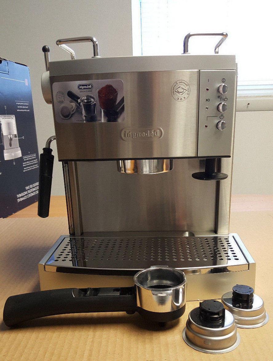 delonghi ec702 15 bar pump driven espresso