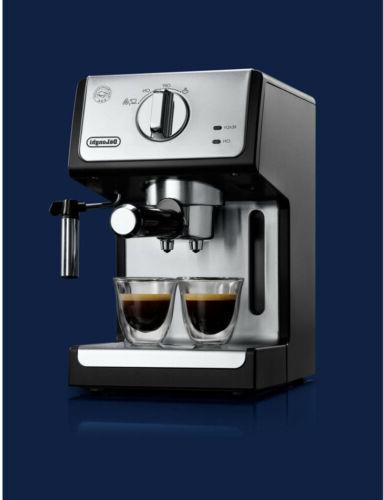 Delonghi 15 Pump Espresso Lattes Machine & Black