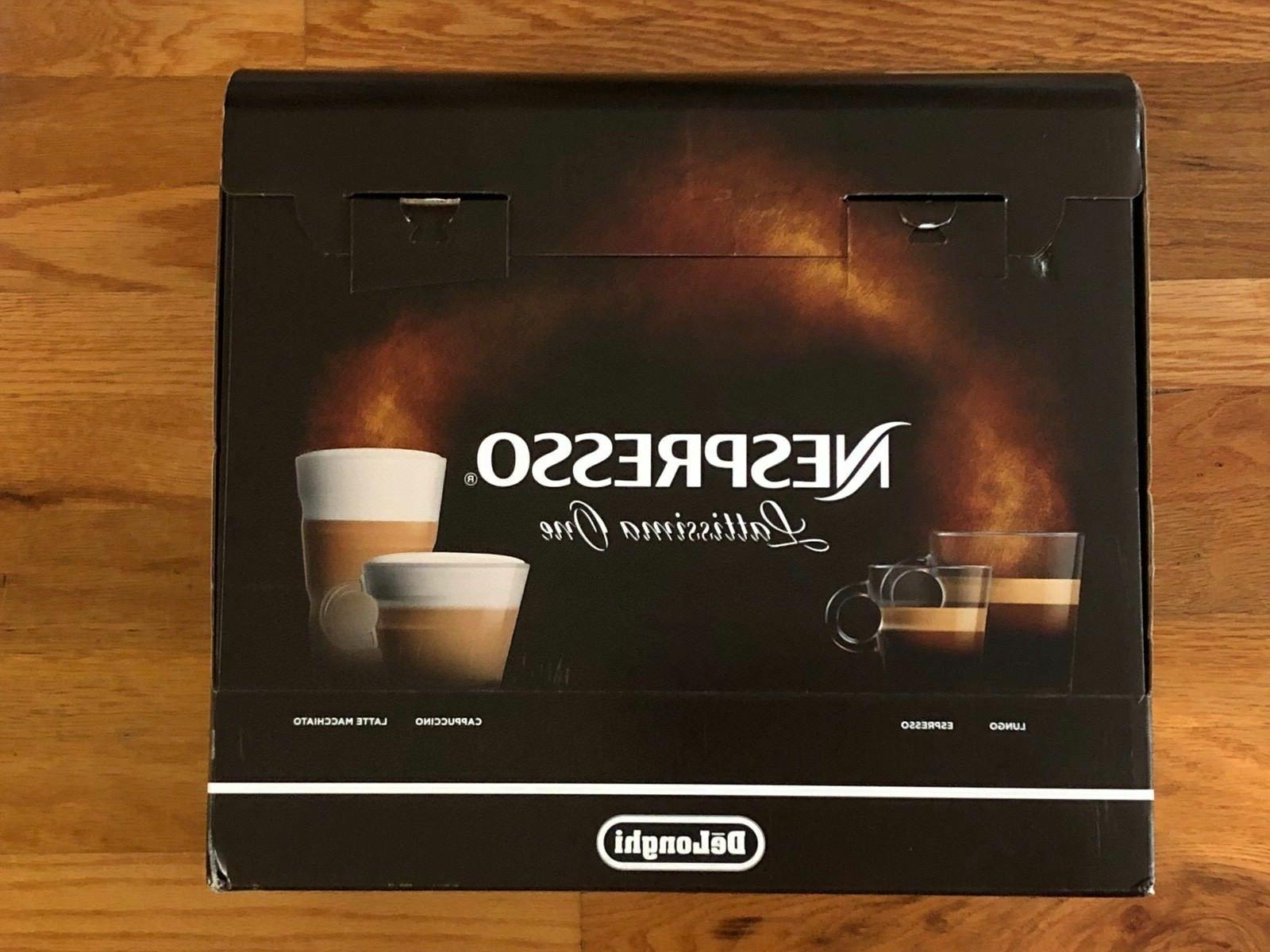 delonghi lattissima one espresso maker black en500b
