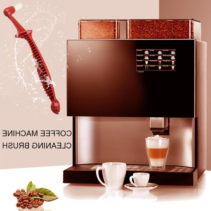 double head anti scald handle coffee machine