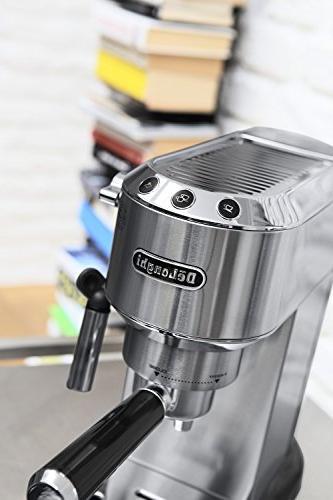 DeLonghi EC680 Dedica 15-Bar Pump Espresso