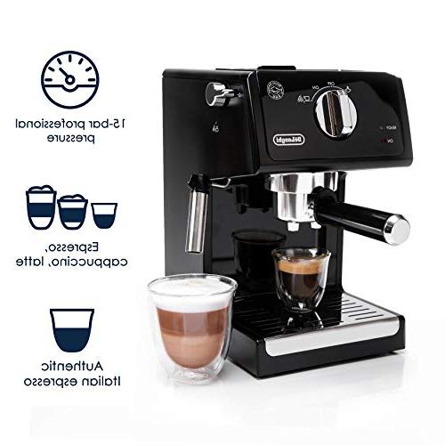 De'Longhi Espresso with Cappuccino System, Steel