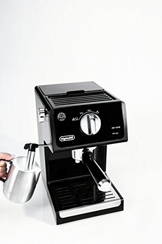 De'Longhi Espresso Machine Cappuccino Steel