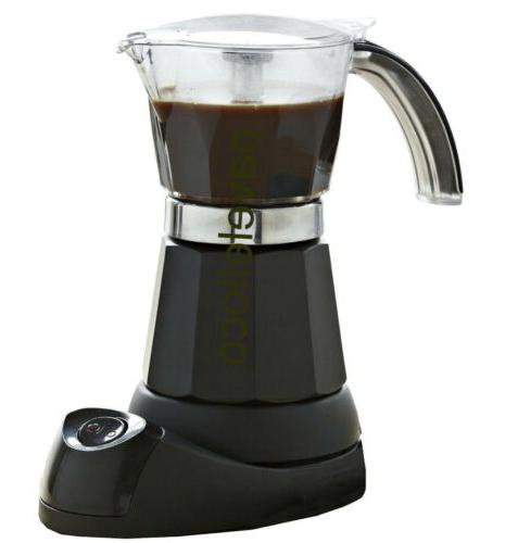 IMUSA Electric Coffee 3/6-Cup cafetera