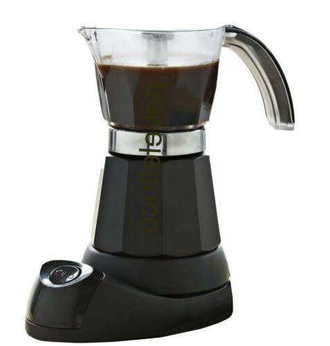 electric coffee maker espresso 3 6 cup