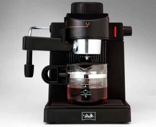 espresso cappuccino maker machine black
