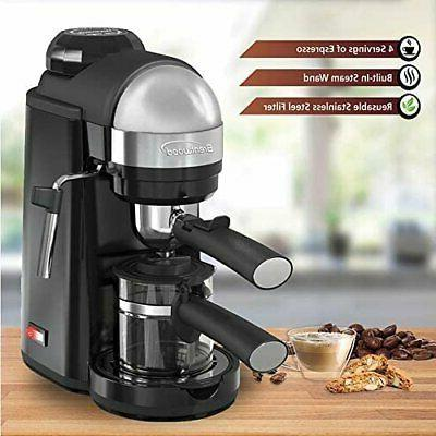 Espresso Machine with Milk Home Barista