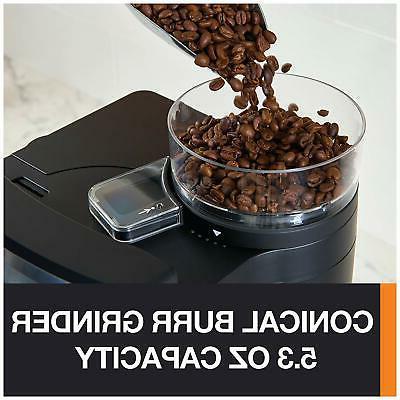 KRUPS Grinder Auto Maker Coffee 10 Black Electric