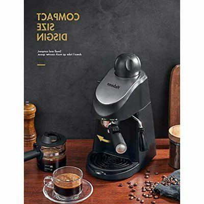 Espresso Machine, Maker, And With Milk Frother,