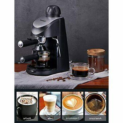 Espresso Machine, 3.5Bar Maker, And Cappuccino Milk