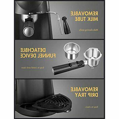 Espresso Machine, Coffee Maker, And Milk Steamer