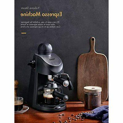 Espresso Machine, Maker, Cappuccino Milk Frother, Steamer