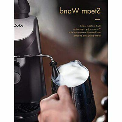 Espresso Machine, 3.5Bar Maker, Milk