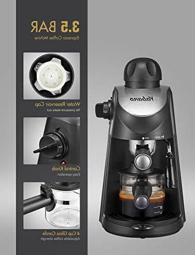 Espresso Coffee and Cappuccino