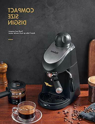 Yabano Espresso Machine, Espresso Maker, Espresso and Cappuccino M