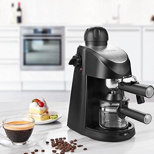 Espresso Espresso Espresso and Milk Frother, with