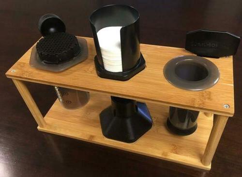 Espresso & Coffeemaker Combos Caddy Aeropress