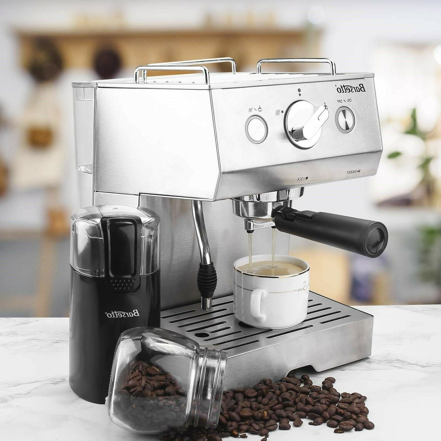 Barsetto Espresso Milk Maker, Coffee