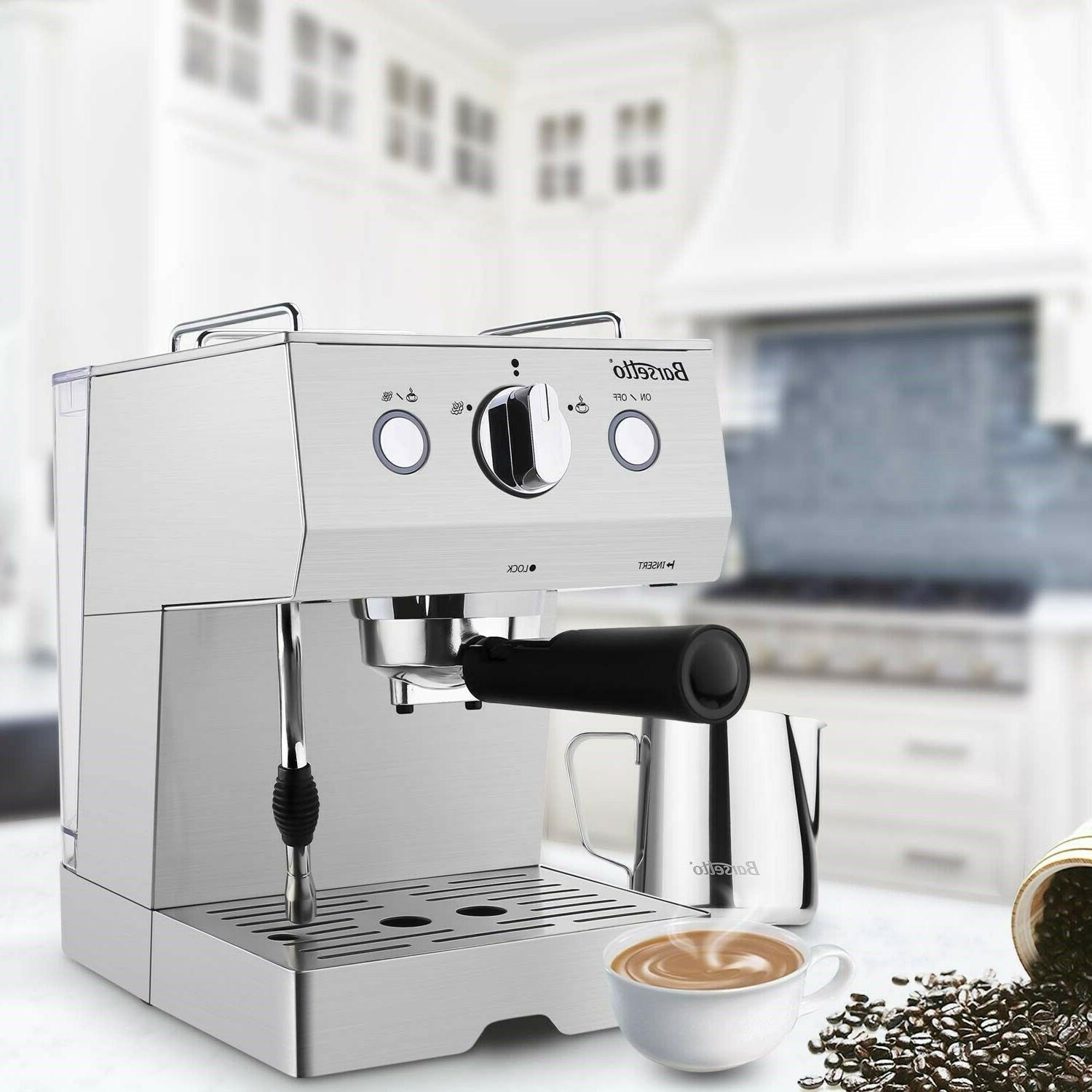 Barsetto Espresso Machine Milk Coffee